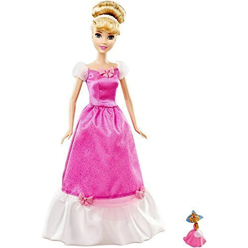 Disney Princess Cinderella Doll and Suzy Mouse Pink Exclusive Disney Princess Sparkle Doll Giftset by Disney Princess