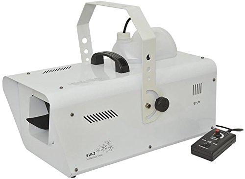 QTX Licht Schnee Maschine, 1200W, sw-2sw-2 (Qtx Light)