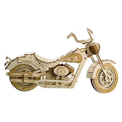 IGNB DIY Handgemachte Motorrad Modell Dreidimensionale Puzzle 3D Bausteine   Puzzle Handgemachte Spielzeug Und Wohnkultur