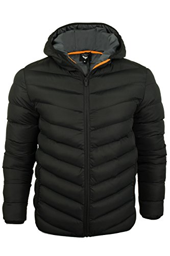 Brave Soul Mens Quilted Padded Jacket/Coat by Grantplain'