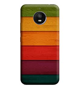 Motorola Moto E4 Back Cover Designer 3d printed Hard Case Cover for moto e4 by Gismo - Colorful Pattern Horizontal