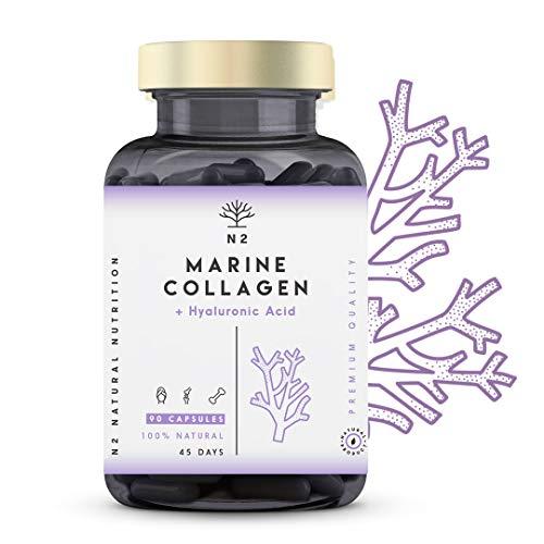 Colágeno Marino Hidrolizado Magnesio Acido Hialurónico Vitamina C Suplemento...