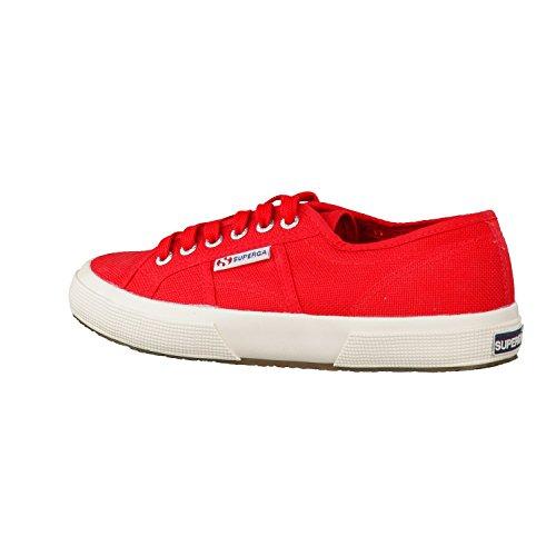 Superga Unisex-Erwachsene 2750 Cotu Classic Low-Top Rot (Maroon Red)