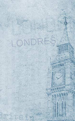 LONDRES: DIARIO DE VIAJE. EDICIÓN ESPECIAL BOLSILLO. CUADERNO DE REGISTRO DE HOTELES, VUELOS, LISTA DE EQUIPAJE Y  LUGARES A VISITAR. INCLUYE ADEMÁS ... O MEJORES MOMENTOS Y DATOS DE INTERÉS. (Hotel Londres)
