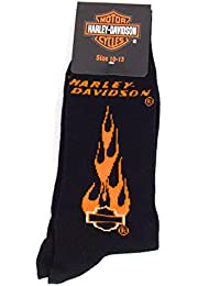 Harley-Davidson Officiel Chaussettes homme taille 44-46 Noir