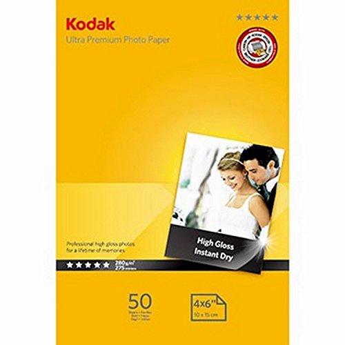 4-pack-kodak-ultra-premium-high-gloss-instant-dry-photo-paper-6x4-100-x-150-mm-280-g-m2-for-all-make