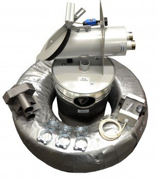Système d'aspiration externe à pellets avec sonde d'aspiration Pelltech
