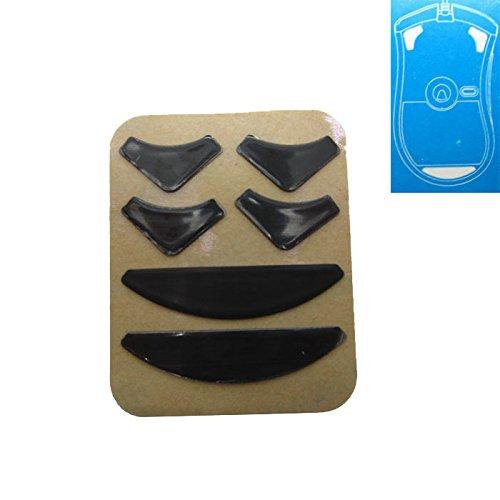 Feicuan Maus Ersatzfüße PTFE Teflon Tape Computer Gaming Mouse Feet Sliders Pads Skates Fast für Razer DeathAdder( Pack of 1 , 0.65mm) (Pad Tape Verpackung)