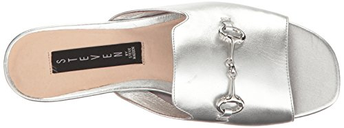 Steven Steve Madden Fela Femmes Cuir Sandale silver
