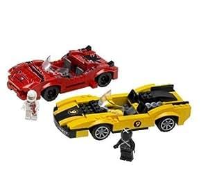 LEGO - 8159 - Speed Racers - Jeux de construction - Racer X & Taejo Togokhan