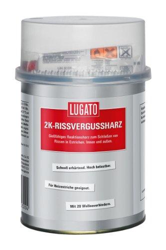 Lugato 2K-Rissvergussharz 1 kg - Für das Schließen von Rissen in Estrichen *Gießharz*
