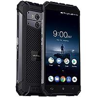 Ulefone Armor X 4G sbloccato antiurto Telefono astuto Android 8.1 IP68 impermeabile e antipolvere, costruito nel Wireless 5.5 full HD+ 5500mAh (18:9) Corning Glass3, NFC per Android pagamento(Grigio)