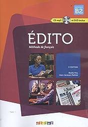 Édito: Méthode de Français - Niveau B2 (Book & CD)