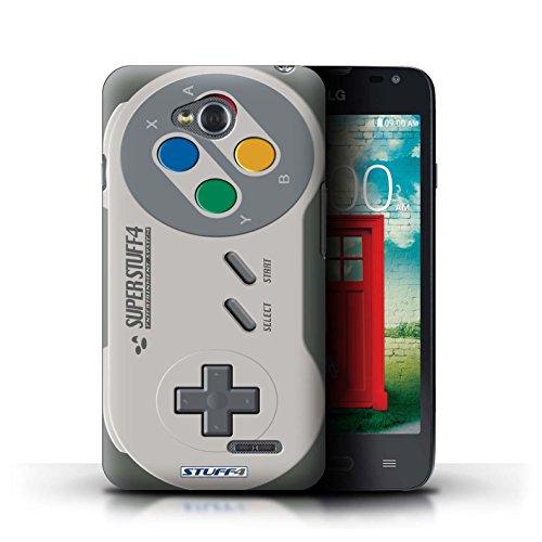 Stuff4 Hülle / Case für LG L65/D280 / Super Nintendo Muster / Spielkonsolen Kollektion