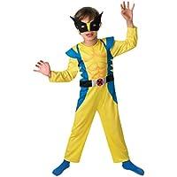 Wolverine - Disfraz de superhéroe para niño, talla M (886587M)