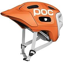 POC Trabec Race - Casco para ciclista, color naranja (orange/white) - 51-54
