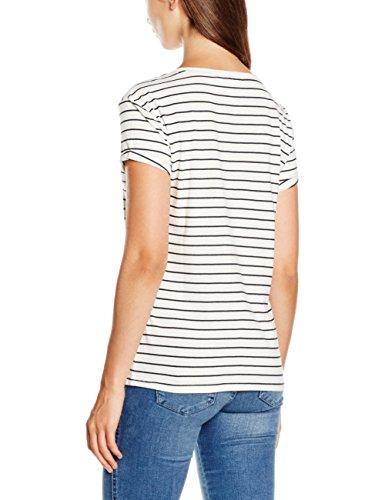 ONLY Damen T-Shirt Onlmedea S/S Trend/Now Top Box ESS Mehrfarbig (Cloud Dancer Print:NOW)