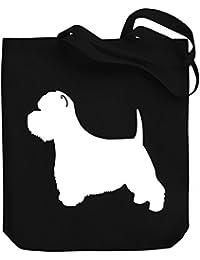 Teeburon West Highland White Terrier SILHOUETTE Bolsa de Lona
