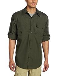 5.11 TacLite Professional - Camisa / Camiseta para hombre, color verde, talla M