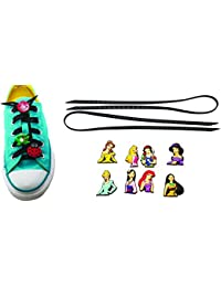 AVIRGO Universal Lazy No Tie Silicone Shoelace Rubber Elastic Slip Sneaker Shoe Laces Running Shoelaces Athletic...