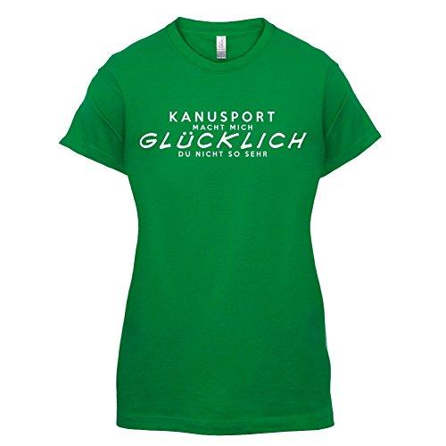Kanusport macht mich glücklich - Damen T-Shirt - 14 Farben Grün