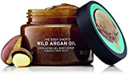 The Body Shop Wild Argan Oil Body Scrub Exfoliator 250ml - Leaves skin feeling soft