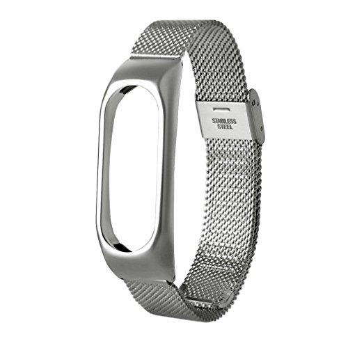Nueva pulsera ligera de acero inoxidable de moda Correa de reloj inteligente Xinan Para Xiaomi MI Ba