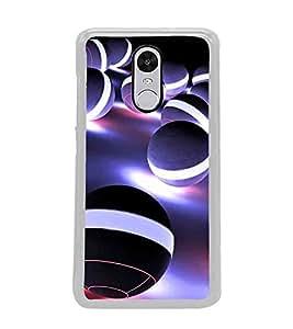 PrintVisa Black Balls High Gloss Designer Back Case Cover for Redmi Note 4 New