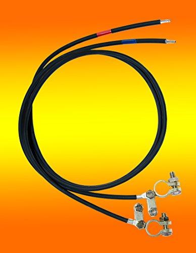 Batterie Anschlusskabel 4mm² 2 x 2 Meter von bau-tech Solarenergie GmbH