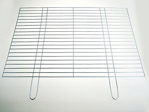 Griglia 80x 60cm–barre girevoli Ø 4mm–stabile e resistente con due manici