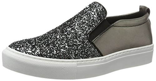 Tamaris 24646 Damen Slipper Silber (PLATINUM GLAM 970)