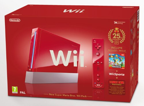 WII New Super Mario Bros Pack