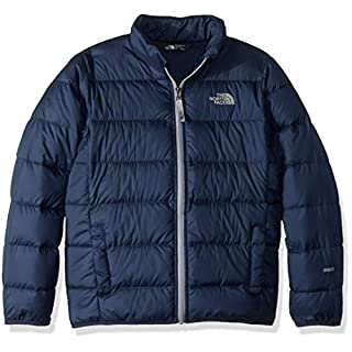 The North Face Kid's Andes Down Girl's Jacket, Cosmic Blue/Mid Grey, Large