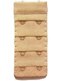 Extensions de soutien-gorge 2 crochets 6 x 35 mm (2 blanches et 2 & 2 nude x Noir)