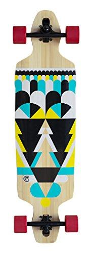 GoldCoast Process - Longboard, Color Negro