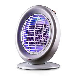 YangMi Mückenlampe- Elektronischer Moskito-Mörder, 4W Haushalts-Mückenschutz und Handelsrestaurant-Feuerlöscher ohne Strahlungs-Dämpfer (200 * 160 * 290mm) (Color : Glossy Gray)