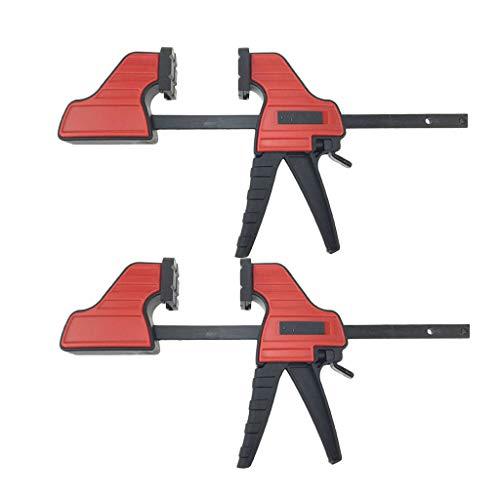 2 Teile/Satz 4 In Holzbearbeitung Bar F Clamp Grip Ratsche Schnellverschluss Holzbearbeitung DIY Handwerkzeug Kit -