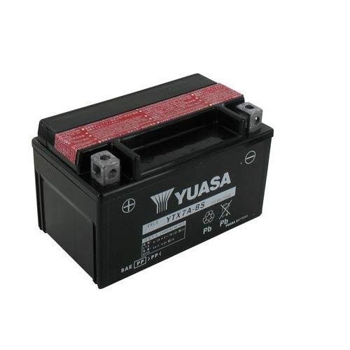 YUASA BATTERIE YTX7A-BS AGM aperto con imballaggio acido