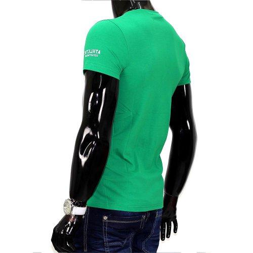 Herren T-Shirt Athletic ID678 Grün