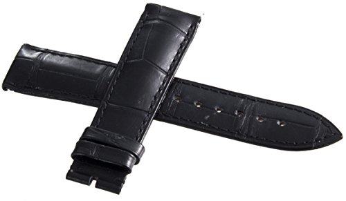 Corum Authentic schwarz Leder Uhrenarmband 20 mm H1130