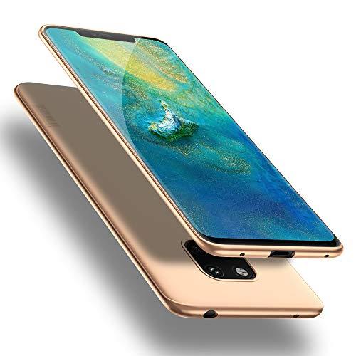 X-level Huawei Mate 20 Pro Hülle, [Guardian Serie] Huawei Mate 20 RS Hülle, Soft Flex Silikon Premium TPU Handyhülle Schutzhülle für Huawei Mate20 Pro / Mate20 RS Case Cover - Gold