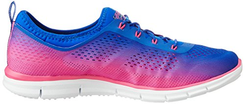 Skechers Glider Fearless, Sneakers basses femme Royal Hot Pink