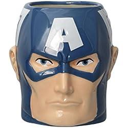 Marvel Avengers Captain America 3D Taza De Cerámica