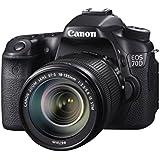 Canon AC8469B018AA Kamera EOS-70D mit EFS18135IS WiFi