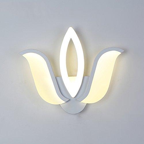Applique Murale Lampe de Mur LED, Lampe de Chevet créative Living Room lumières décoratives lumières du Restaurant lumières de l'allée lumières Mur Simple (Couleur : Three Head)