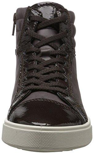 Ecco Damen Gillian Hohe Sneaker Braun (Shale/Shale)