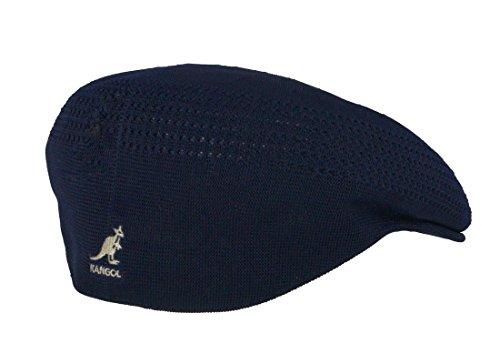 Kangol Original Tropic 504 Ventair Flatcap Blau M - Kangol Tweed Cap