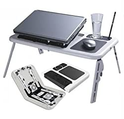 Adjustable laptop cooling table, portable laptop desk, portable laptop table, Portable Multipurpose Laptop Table, Foldable laptop cooling table