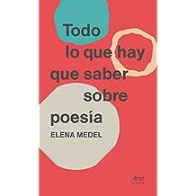 Todo lo que hay que saber sobre poesía