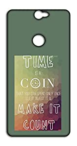 Happoz Time is Money 0 back cover Mobile Phone Back Panel Printed Fancy Pouches Accessories Z1660